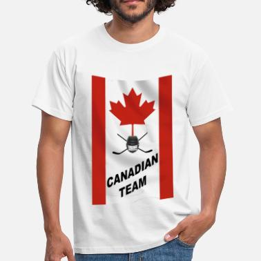 Canadian canadian team - T-shirt Homme
