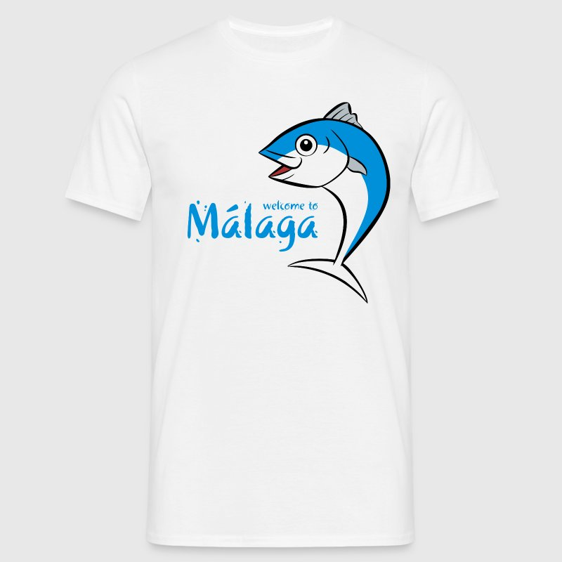 Welcome to Malaga 3 - T-shirt Homme