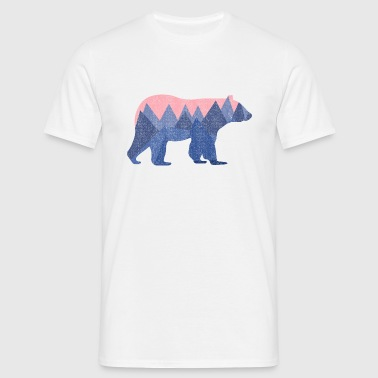 mountain bear - Mannen T-shirt