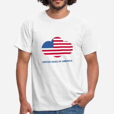 United SaaS of America (White stripes) - T-shirt Homme