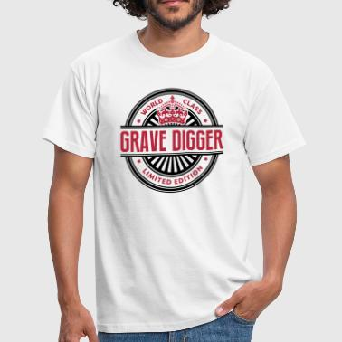 Grave World class grave digger limited edition best logo - Men's T-Shirt
