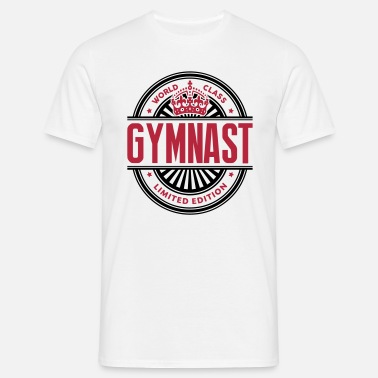 Acro World class gymnast limited edition best logo - Men's T-Shirt