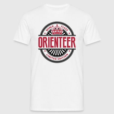World class orienteer limited edition best logo - Men's T-Shirt