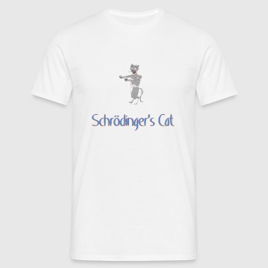 Schrodinger's Zombie Just - Men's T-Shirt
