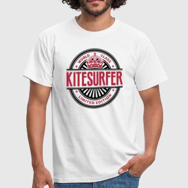 Kitesurf Logo World class kitesurfer limited edition best logo - Men's T-Shirt
