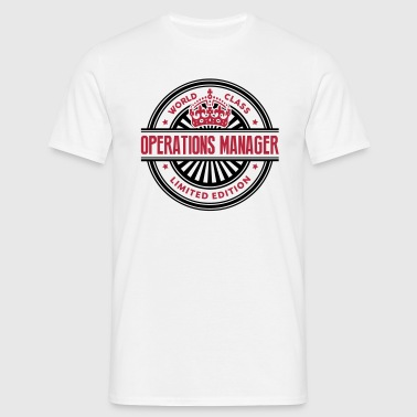 World class operations manager limited e - Men's T-Shirt