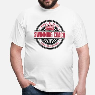 Swimming World class swimming coach limited editi - Men's T-Shirt