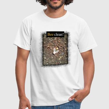 Bee clean - Männer T-Shirt
