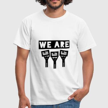 We are Noise Vandals  - Men's T-Shirt