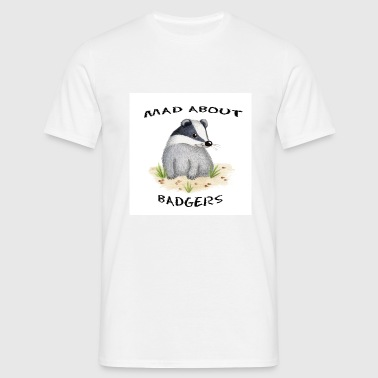 Mad About Badgers - Men's T-Shirt