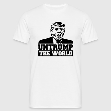 Untrump the World - Männer T-Shirt