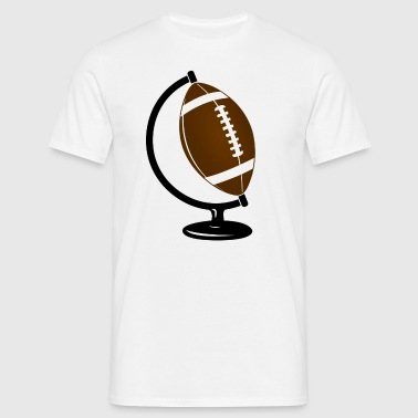 Football Globe  - T-shirt Homme