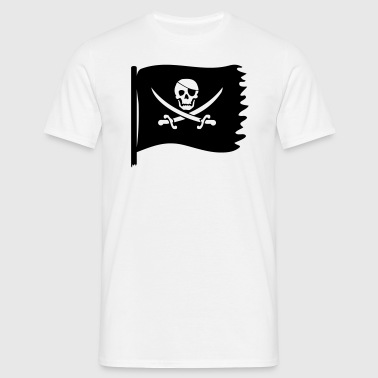 piraten flagge - Männer T-Shirt