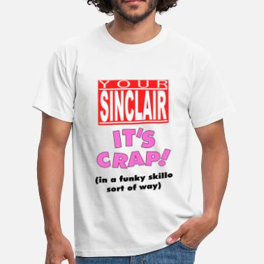 Clive Your Sinclair T-Shirt - Men's T-Shirt