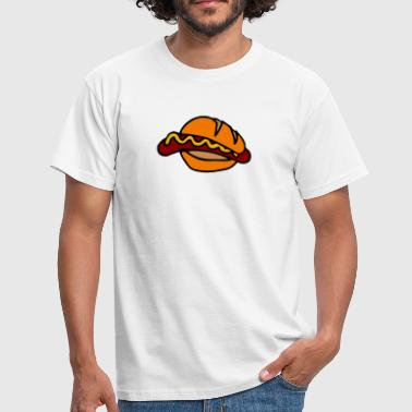 Bockwurst hot dog - Men's T-Shirt