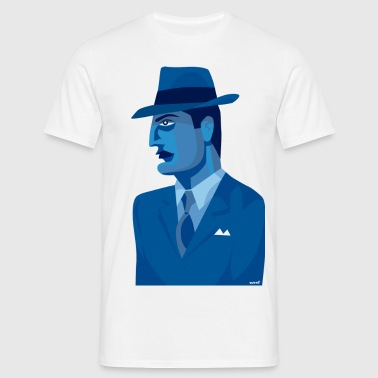 The Blue man - Men's T-Shirt