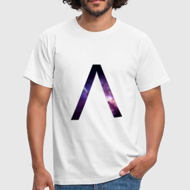 Alpha space letter - T-shirt Homme