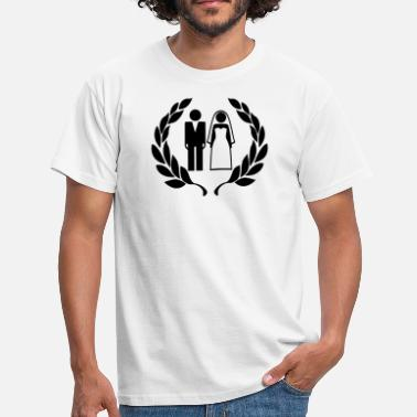 Wedding Couple Hochzeitspaar - Wedding Couple - Männer T-Shirt