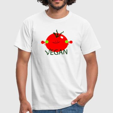Vegan with vigor - T-shirt Homme