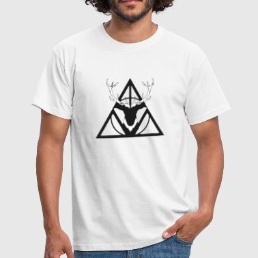 Potter Cerf triforce - T-shirt Homme