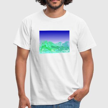 waves - Männer T-Shirt