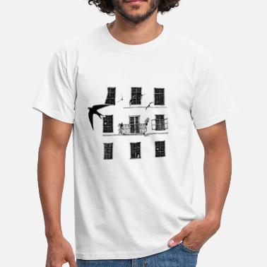 Black And White Collection UrbanNature  - Mannen T-shirt