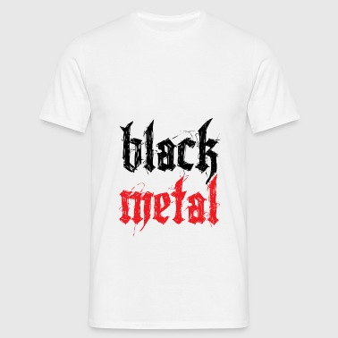 Black Metal - T-shirt herr
