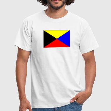 zulu nav flag - Men's T-Shirt
