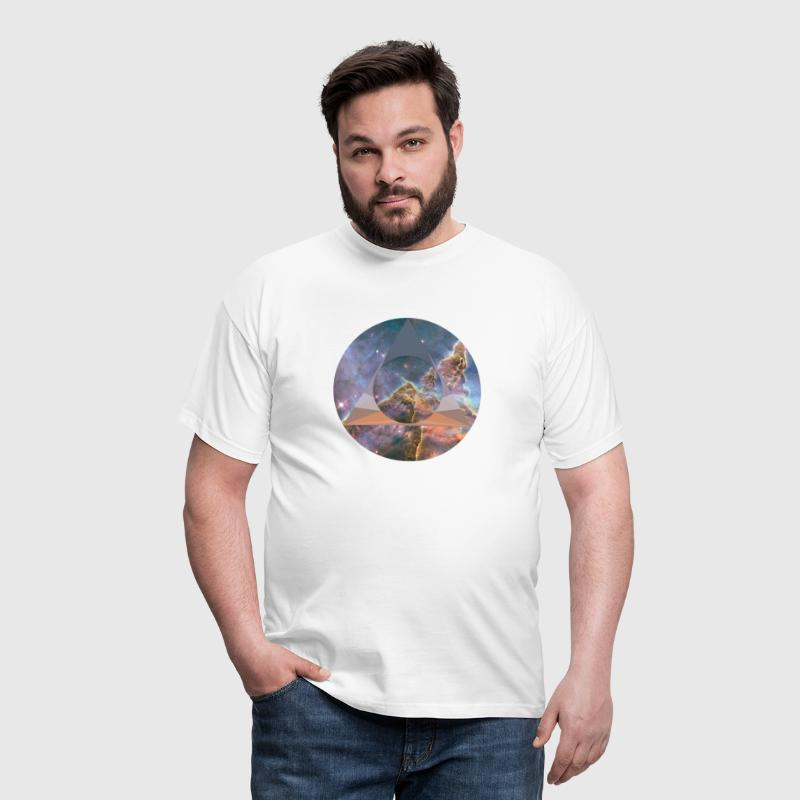 Space Polygon - Men's T-Shirt
