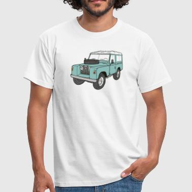 Land 4x4 Off-Road Serie 2 88  - T-shirt Homme