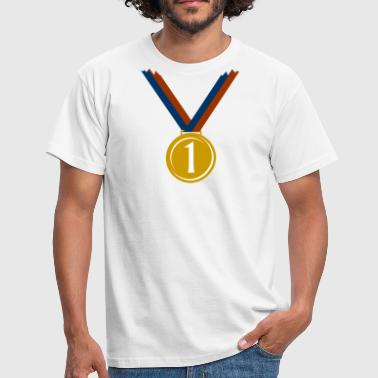 Gold medal for first place  T-Shirts - Men's T-Shirt