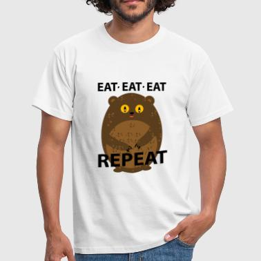 eat - Herre-T-shirt