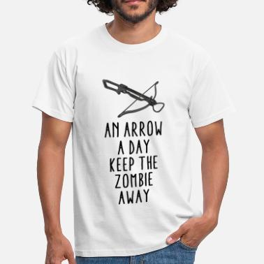 Funny Arrow - An arrow a - Men's T-Shirt