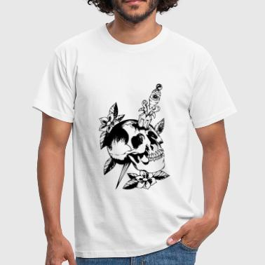 Old school skull - T-shirt Homme