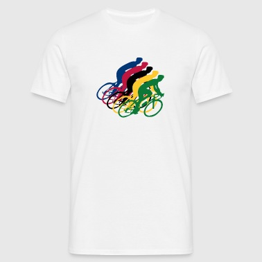bicycle race - Men's T-Shirt