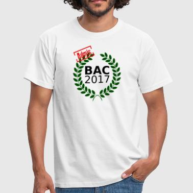 bac 2017 - T-shirt Homme