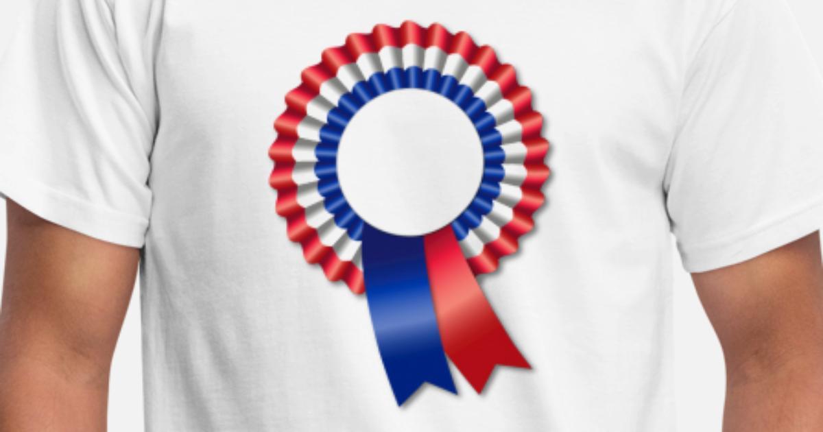 T Tricolore HommeSpreadshirt Shirt Rosette Template KTJlcF31