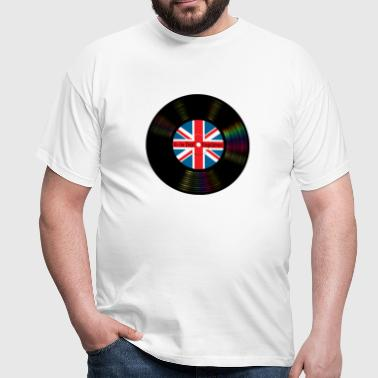 Brit Pop Vinyl - Men's T-Shirt