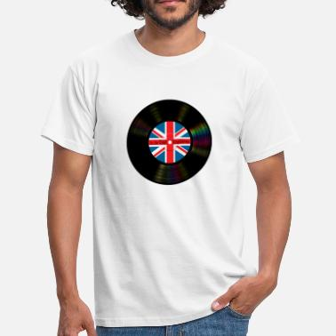 Brit Pop Brit Pop Vinyl - Men's T-Shirt