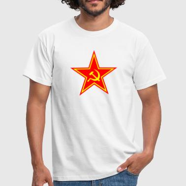 Star hammer sickle - Men's T-Shirt