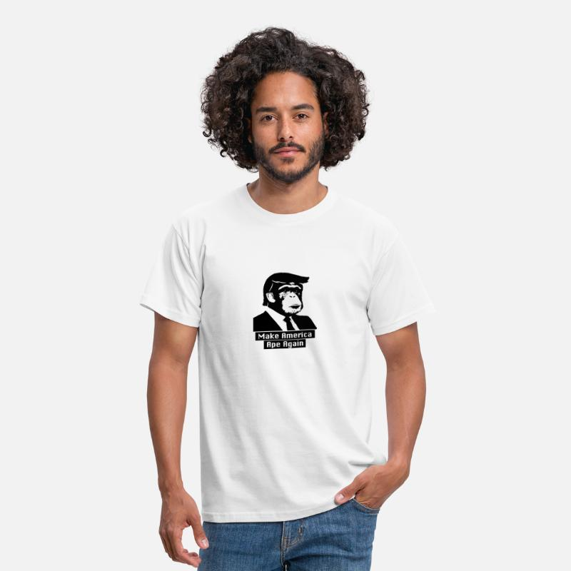 Street T-Shirts - Make America Ape Again - Men's T-Shirt white