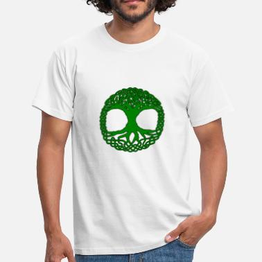 Druide celtic tree of life knots - T-shirt Homme