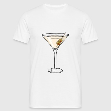 Cocktail Dry Martini - T-shirt Homme