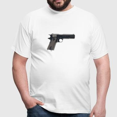 1911 Colt pistol 2 - Men's T-Shirt