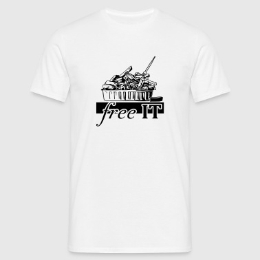 free it - Men's T-Shirt