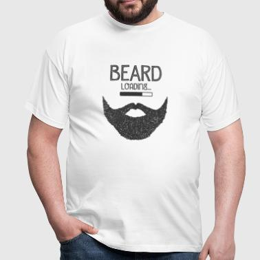 Beard Loading... - Men's T-Shirt