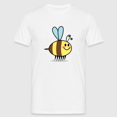 Bienen Cartoon Comic Design - Männer T-Shirt