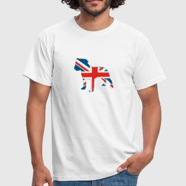 Staffy Dog British staffie - Men's T-Shirt
