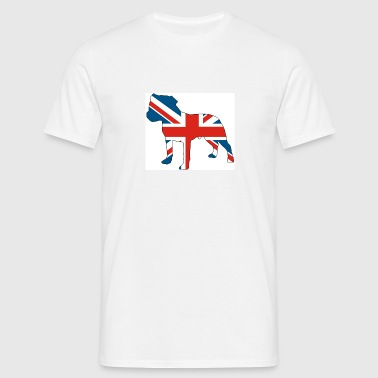 British staffie - Men's T-Shirt