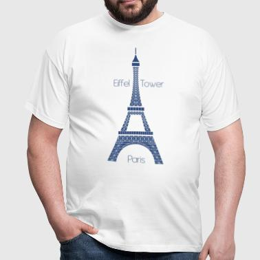 Eiffel Tower - Men's T-Shirt